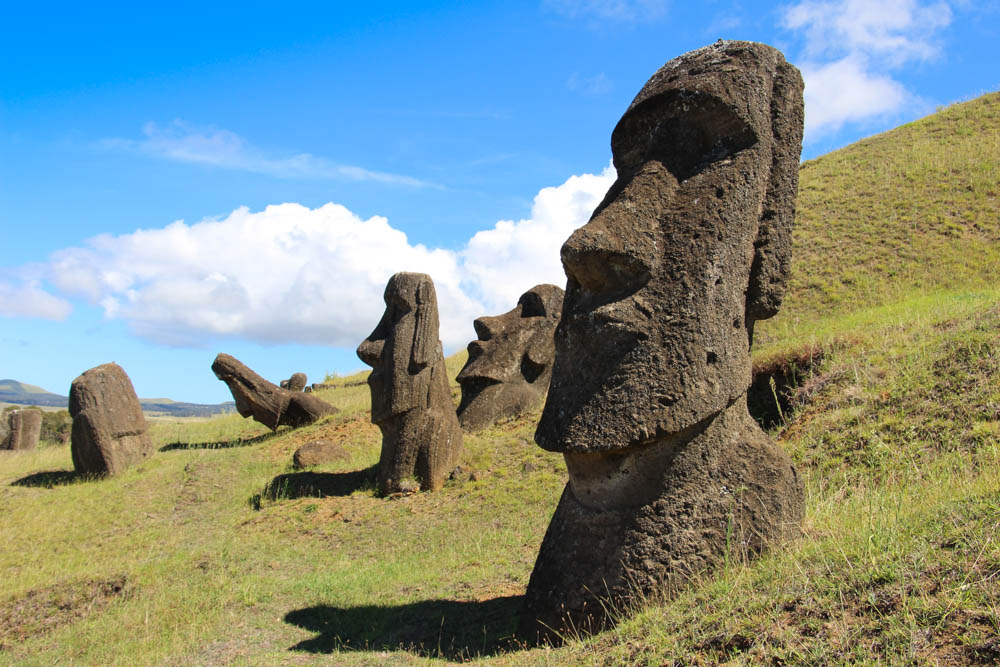 Lakani Around the World by Private Jet March 2015 – Easter Island, CHILE