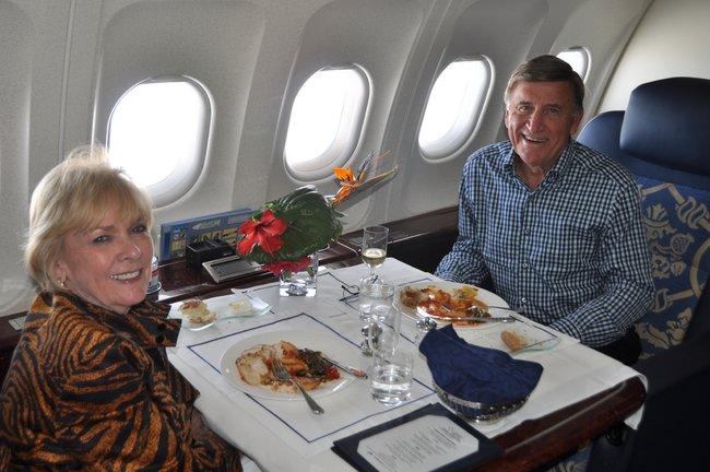 """""""Luxury Private Jet Around the World"""" Write Up in the New York Times – """"The Ultimate Luxury Travel? A Private Jet"""""""