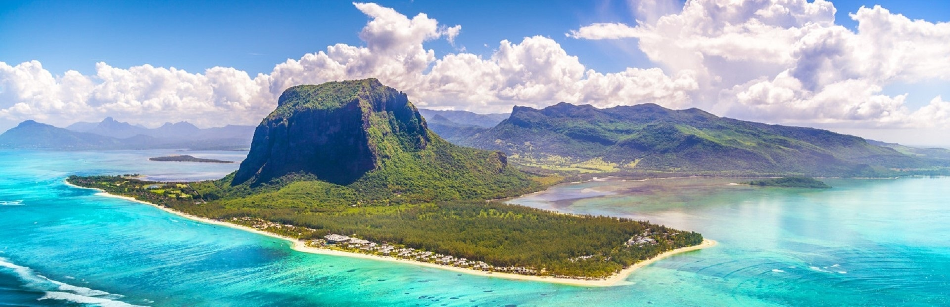 Mauritius arrival slider