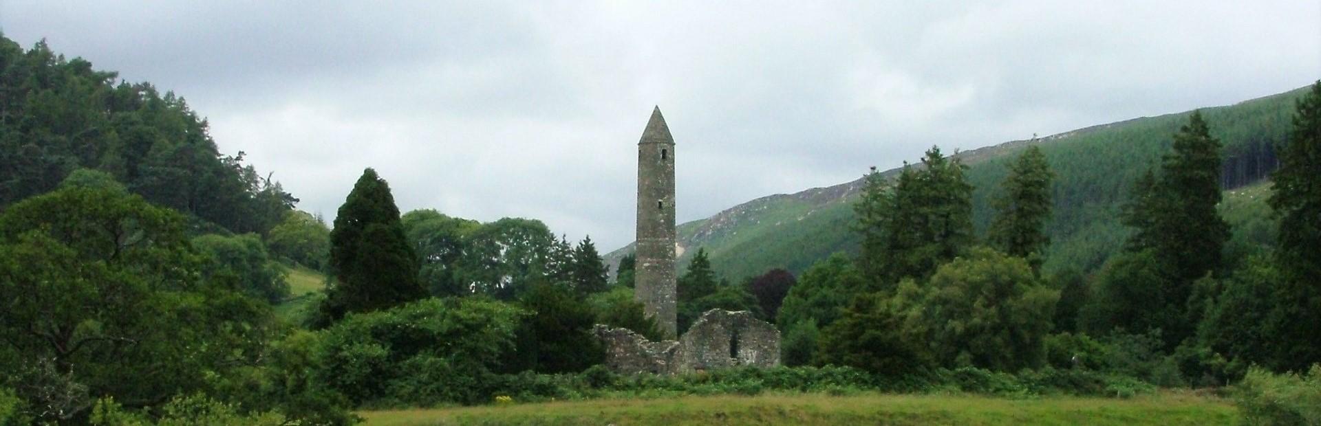 Ireland Glendalough_Rundturm1 a
