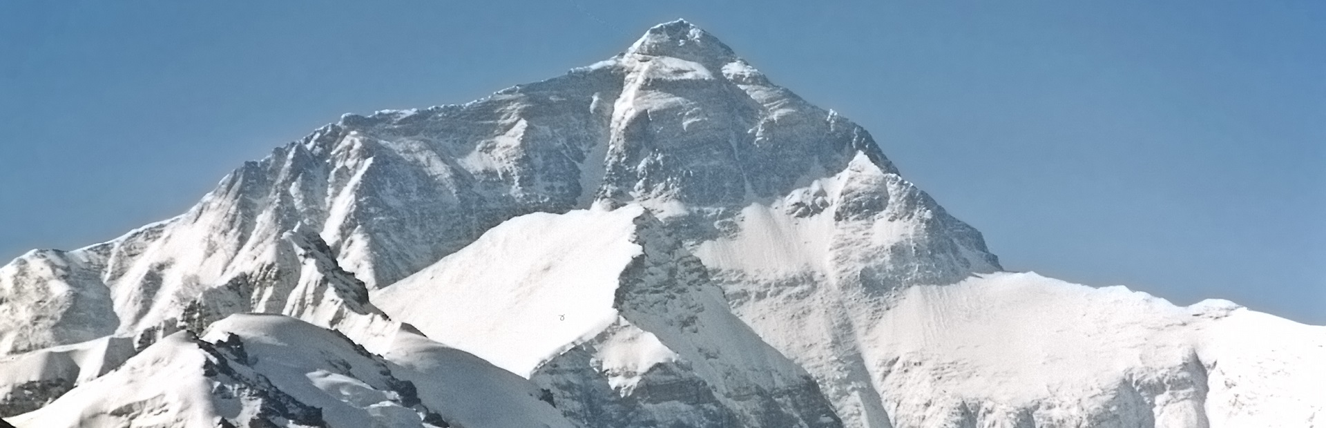 Mount Everest, the highest in the world, 8850m.