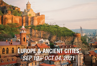2021 Europe & Ancient Cities by Private Jet