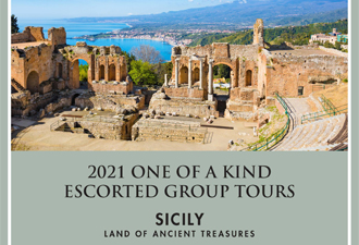 2021 Sicily – Land of Ancient Treasures – Small Group Tour