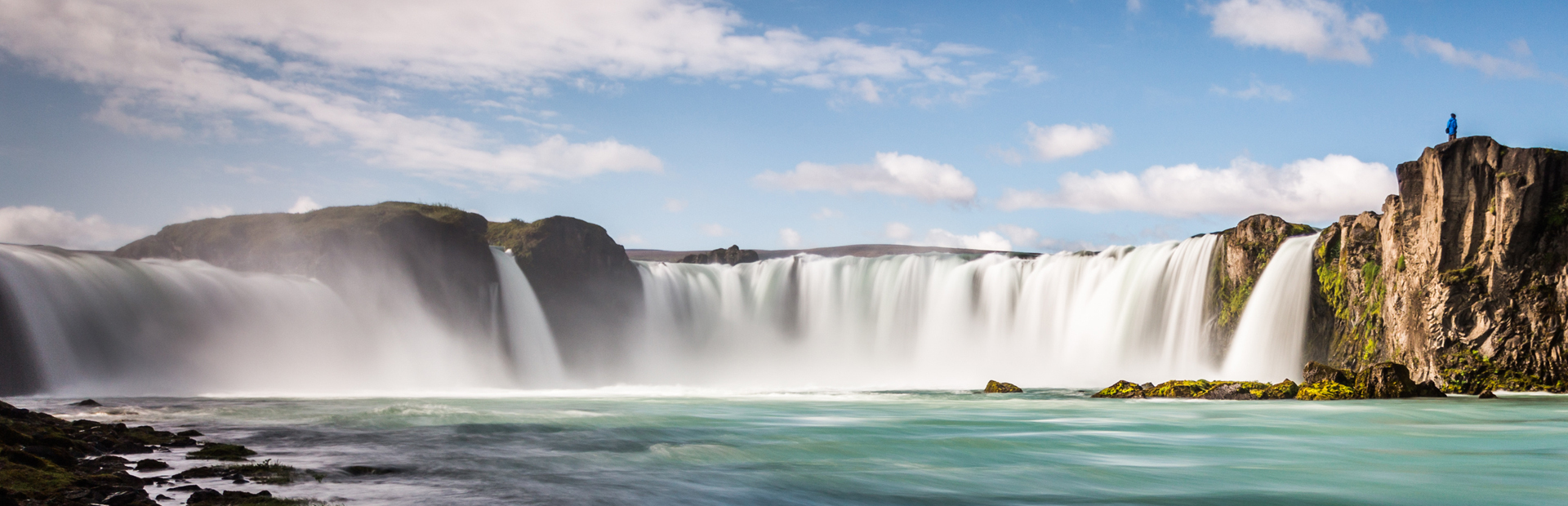 IS-Godafoss waterfall – North Iceland – Summer copy
