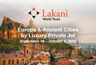2022 Europe & Ancient Cities by Private Jet