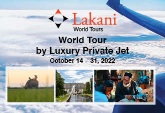 2022 World Tour by Private Jet
